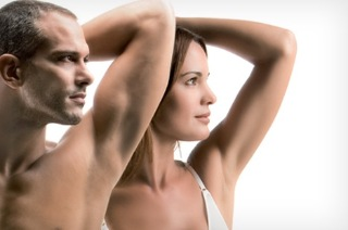 Dauerhafte Haarentfernung Achseln