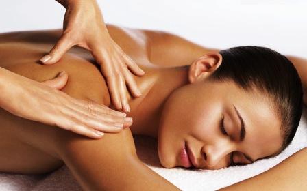 Nacken- und Rückenmassage 30 Minuten
